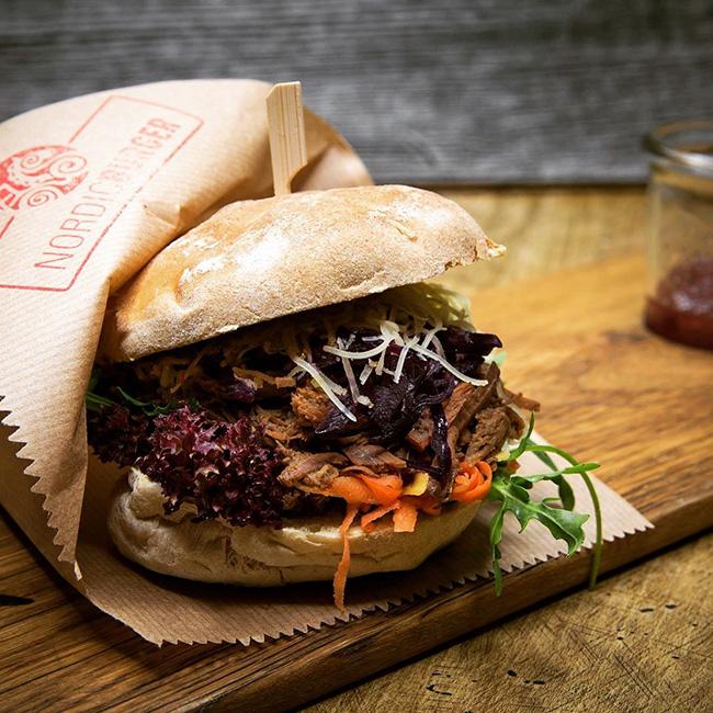 Wikingerschänke Haithabu Burger